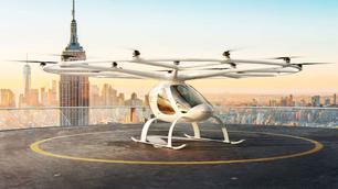 Deze autonome en elektrische helikoptertaxi komt naar onze steden