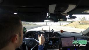De VS door in 27,5 uur met een AMG-Mercedes