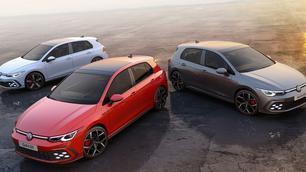 Volkswagen dévoile sa triplette sportive de Golf : GTI, GTE et GTD