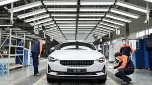 Polestar 2 : la production démarre en Chine comme prévu