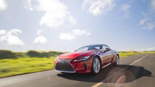 Lexus LC: gerichte verbeteringen