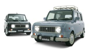 Je kan een nieuwe Suzuki Alto ombouwen tot een Renault 4