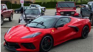 Deze Ferrari is in Amerika gemaakt