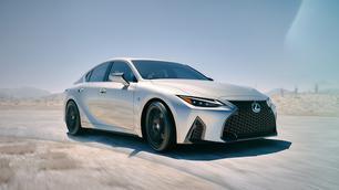 Lexus IS krijgt forse facelift