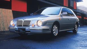 Een model, een flop: Subaru Casa Blanca, wanneer de Impreza zich een limousine waant...