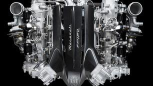 Dit is de biturbo V6 die in de Maserati MC20 zal zitten