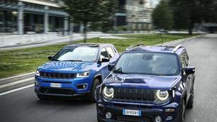 Jeep 4xe: plug-inhybride Renegade en Compass komen eraan