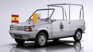 En 1982, Jean-Paul II recevait une Seat Panda « Papamobile »