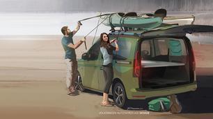 Volkswagen Caddy Beach: mini-California