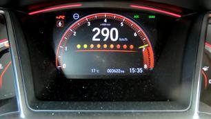 D'après vous, quelle est la vitesse de pointe de la Honda Civic Type-R Limited Edition ?