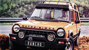 Vergeten model: Matra Rancho, bijna onvindbaar