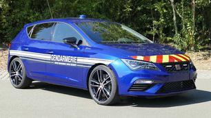 La gendarmerie française roulera désormais en Seat Leon Cupra !