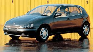 Vergeten concept: Lexus Landau, niet mooi, wel snel