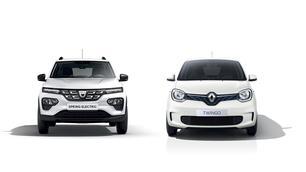 Dacia Spring / Renault Twingo Electric: vergelijking in 7 cijfers