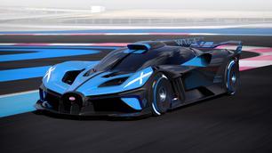 Bugatti Bolide: gepaste naam