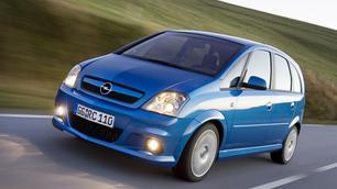 Geflopt model: Opel Meriva OPC, onwaarschijnlijk klein bommetje