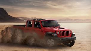 Le Jeep Gladiator entre dans l'arène européenne !