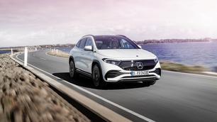 Officieel: de Mercedes EQA geraakt 426 kilometer ver