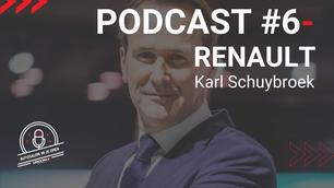 """AUTOSALON IN JE OREN #6: """"Met de Renault TWINGO en de Dacia Spring willen we de elektrische auto écht democratiseren."""" - Karl Schuybroek"""