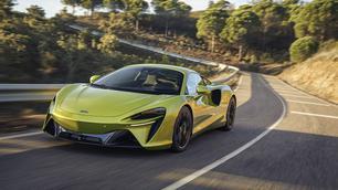 McLaren Artura: gloednieuw en hybride
