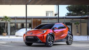 Toyota laat de Aygo nog niet vallen