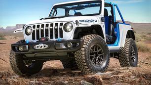 Jeep Magneto: elektrisch en handgeschakeld