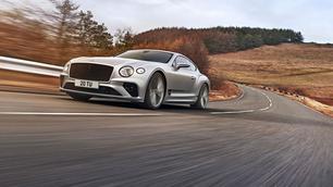 Daar is de Bentley Continental GT Speed weer