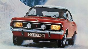 Vergeten model: Opel Commodore A, je komt hem nooit meer tegen