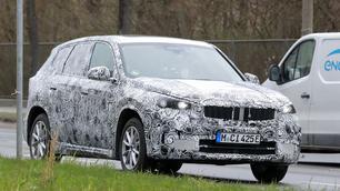 Scoop : le SUV BMW iX1 est dans la nature