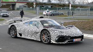 Scoop : Mercedes-AMG One, toujours en phase de tests