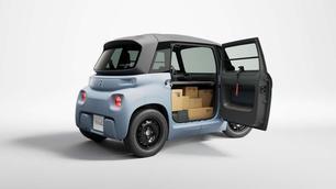 La Citroën Ami s'offre une version utilitaire