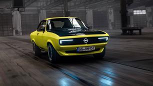 Opel Manta GSe: elektrisch, handgeschakeld en achterwielaangedreven