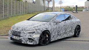 Mercedes-AMG EQE: elektrische bruut