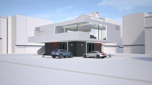 Audi gaat zijn eigen 'tankstations' ontwikkelen