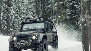 Te koop: Land Rover Defender met filmgeschiedenis