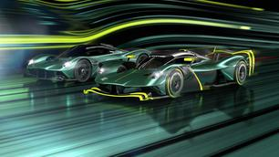 Aston Martin Valkyrie AMR Pro: recyclage in alle luxe