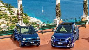 Fiat 500 en 500X Yachting: luxe met de haren in de wind