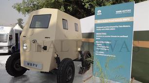 Tata MBPV: gepantserde cabine op wielen