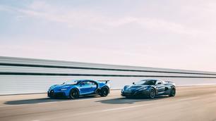 Bugatti wordt eigendom van Rimac