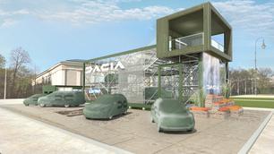 """Dacia kondigt een """"veelzijdig model"""" met 7 zitplaatsen aan"""