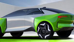 Opel Manta-e bevestigd