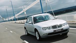 Geflopt model: Rover 75, prachtig einde van zijn soort voor 2.000 euro