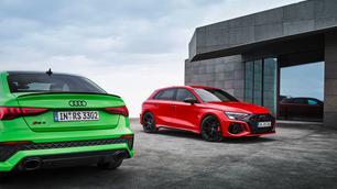 Officieel: Audi RS3, driften met een vijfcilinder