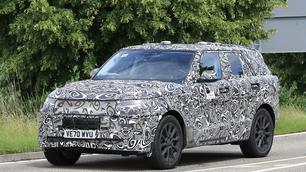 Scoop: dit is de Range Rover Sport