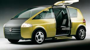 Meer dan 25 jaar later is de VW Noah nog steeds even futuristisch