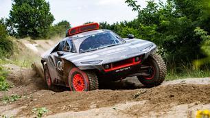 Audi RS Q e-tron: geëlektrificeerd voor Dakar