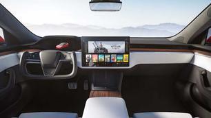 Nieuwe Tesla Model S heeft geen rond stuurwiel meer