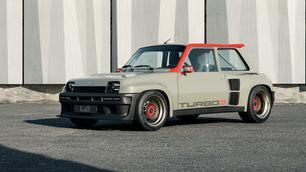 Renault 5 Turbo 3: tijdreismachine