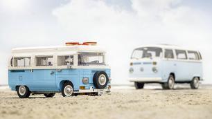 Na de Volkswagen T1 is nu ook de T2 in Lego verkrijgbaar