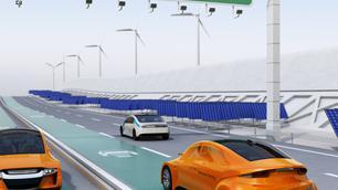 'Magnetische wegen' om elektrische auto's op te laden?